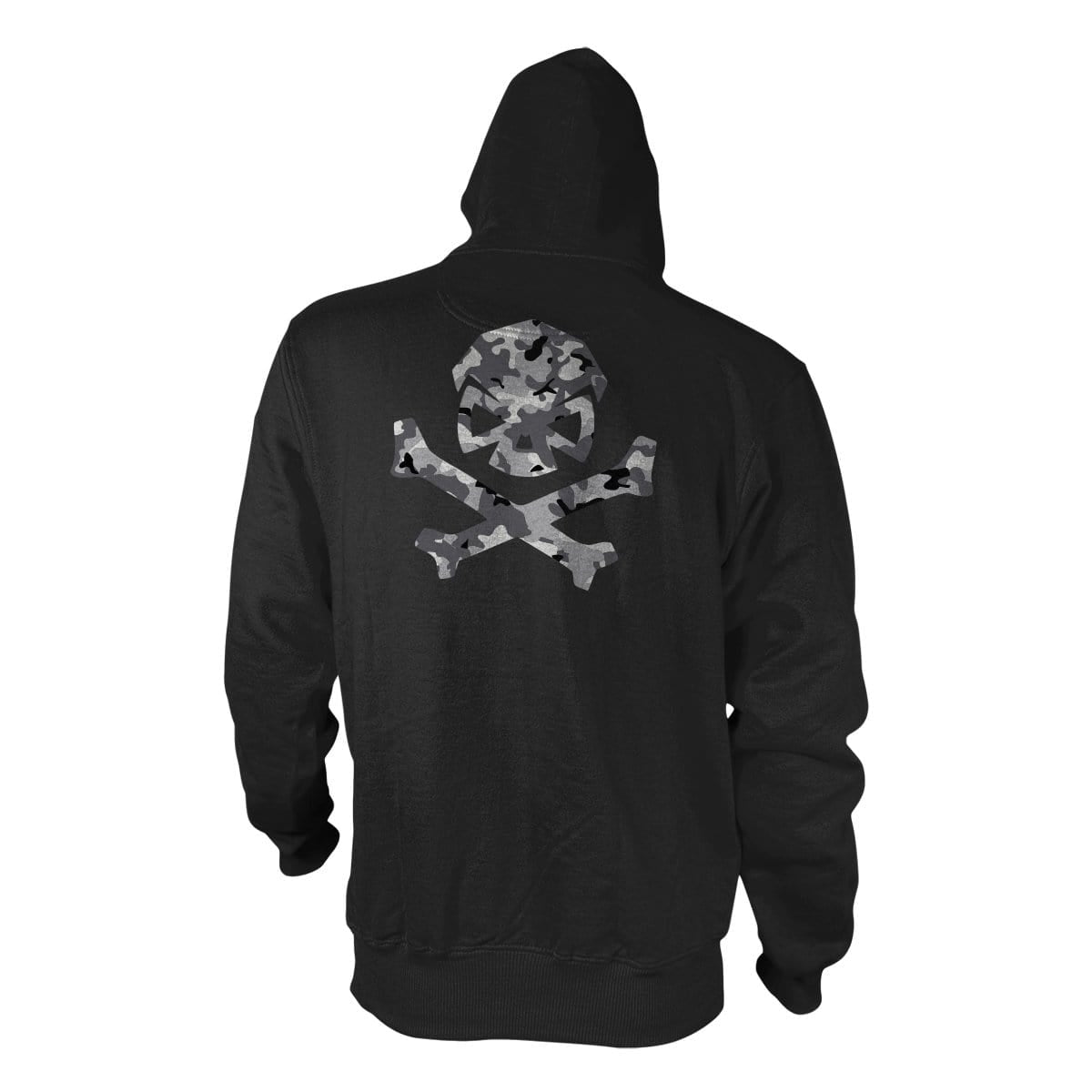 Multicam Logo Hoodie - Black/Grey_Multicam - Hoodies - Pipe Hitters Union