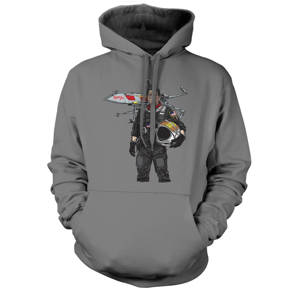 Original Pipe Hitter - Ronnie Hoodie - Grey - Hoodies - Pipe Hitters Union