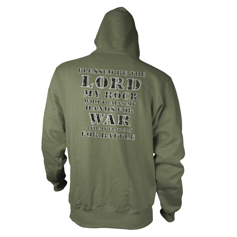 Psalm 144.1 - Hoodie - Small - Hoodies - Pipe Hitters Union