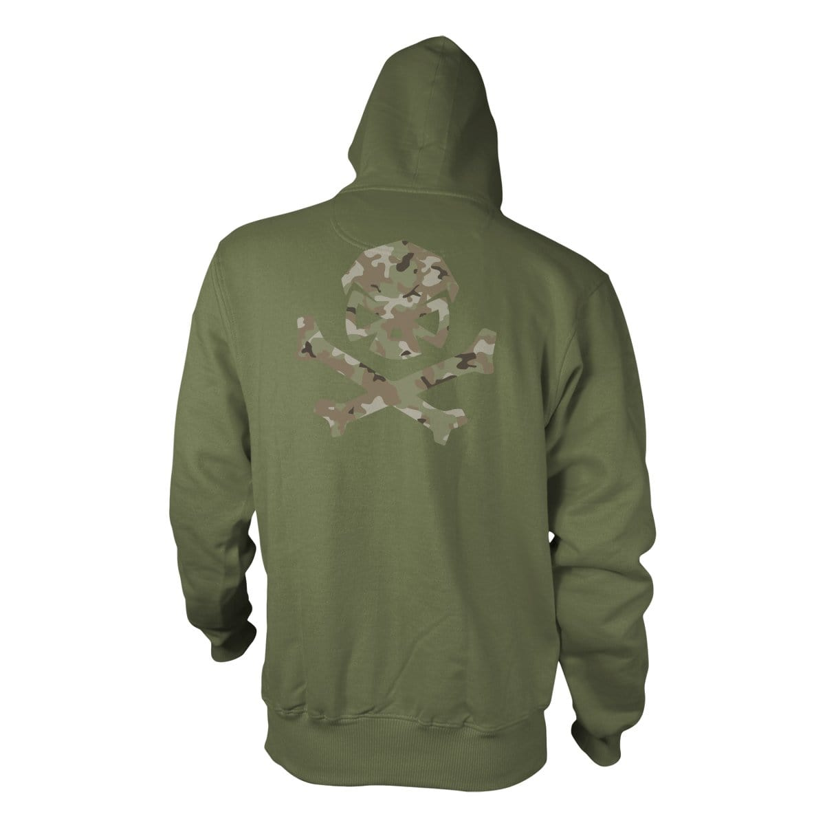 Multicam Logo Hoodie - Green/Green_Multicam - Hoodies - Pipe Hitters Union