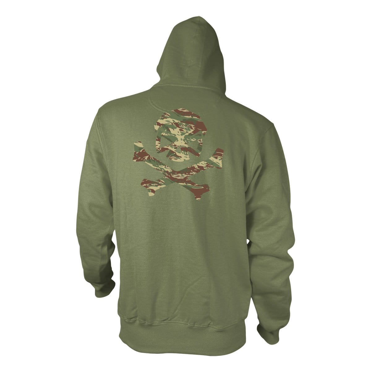 Hitter in the Mist Hoodie - Military Green/Brushstroke - Hoodies - Pipe Hitters Union