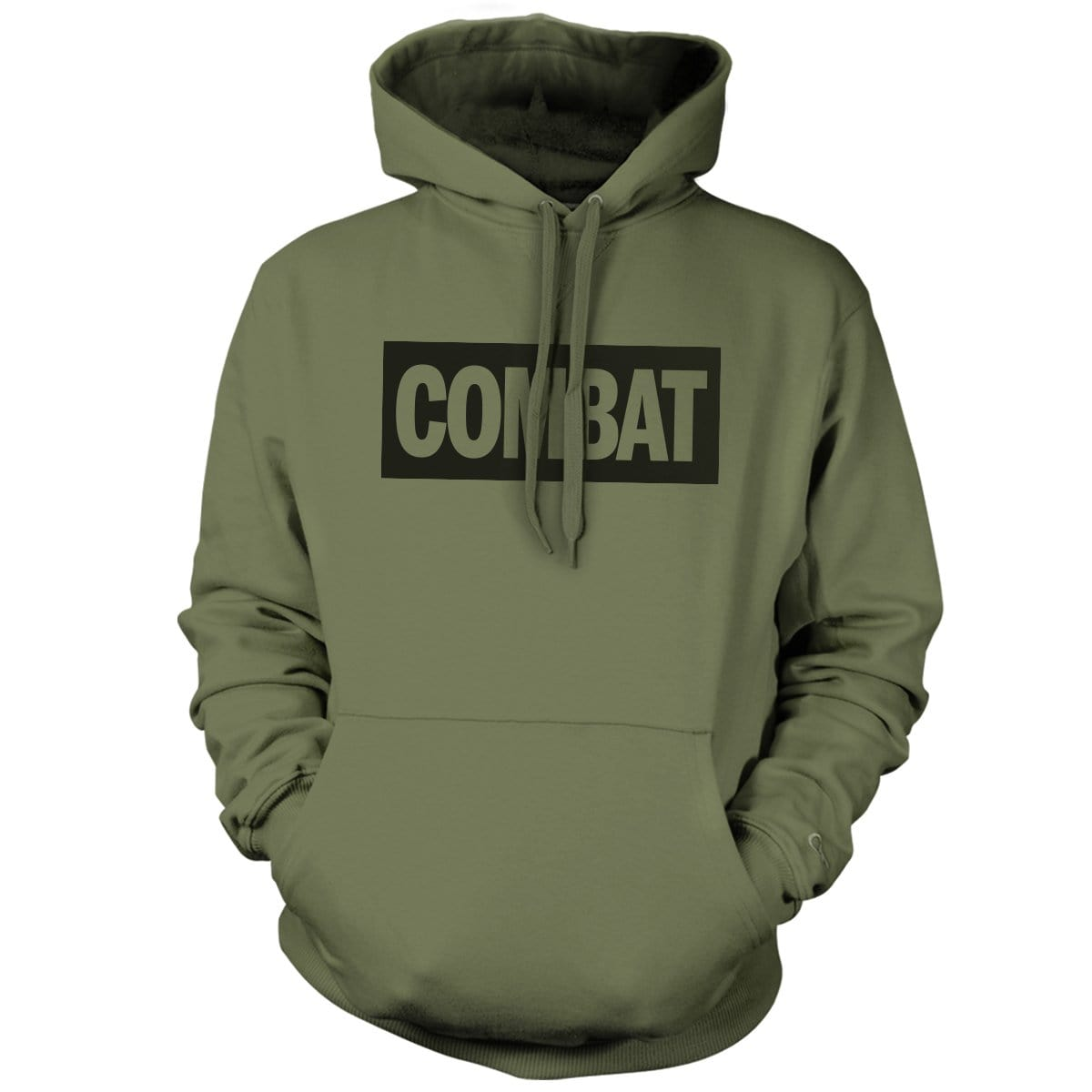 Combat Hoodie - Military Green - Hoodies - Pipe Hitters Union
