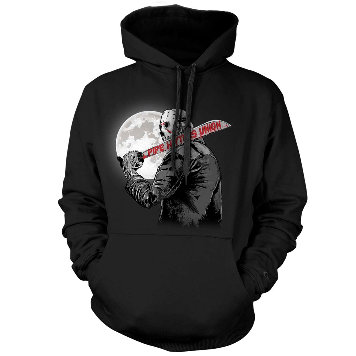 Crystal Lake Hitter - Hoodie - Black - Hoodies - Pipe Hitters Union