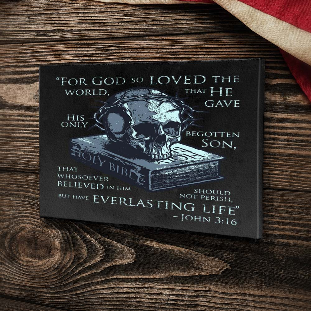 John 3:16 - Canvas -  - Canvas - Pipe Hitters Union