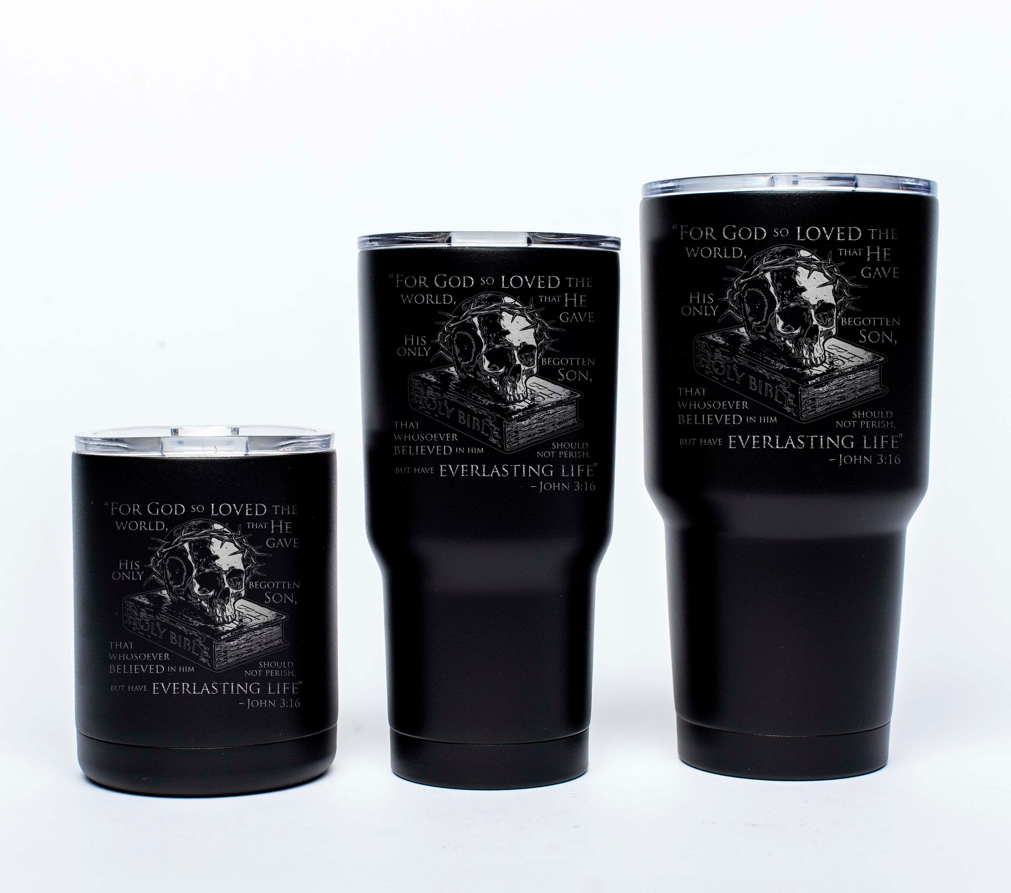 John 3:16 - Tumblers - Side 1 - Tumbler - Pipe Hitters Union