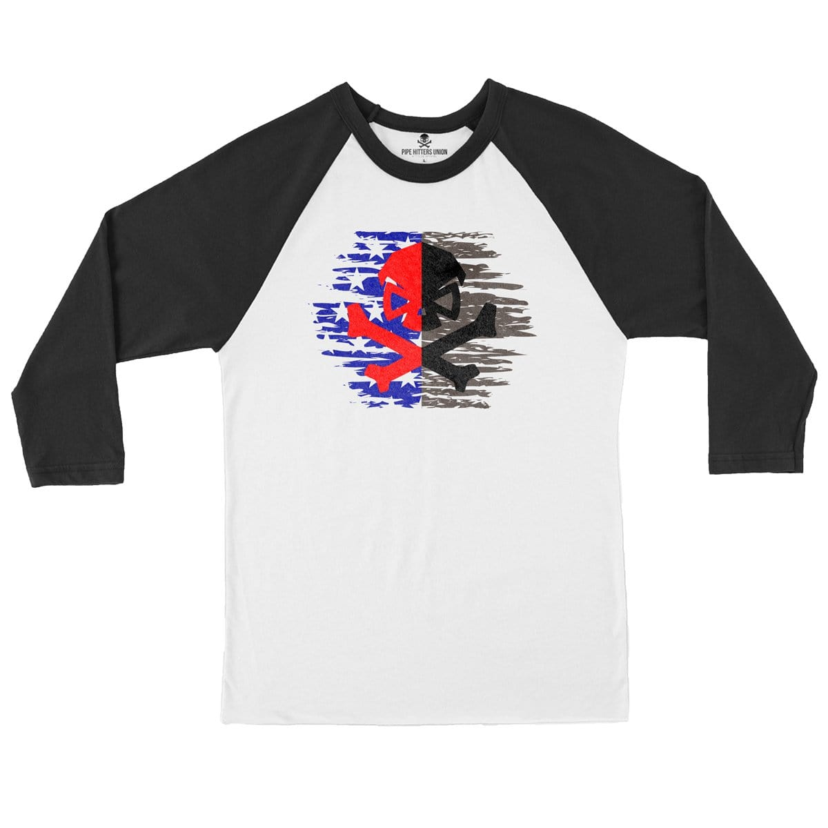 Liberty or Death - Raglan - Pipe Hitters Union