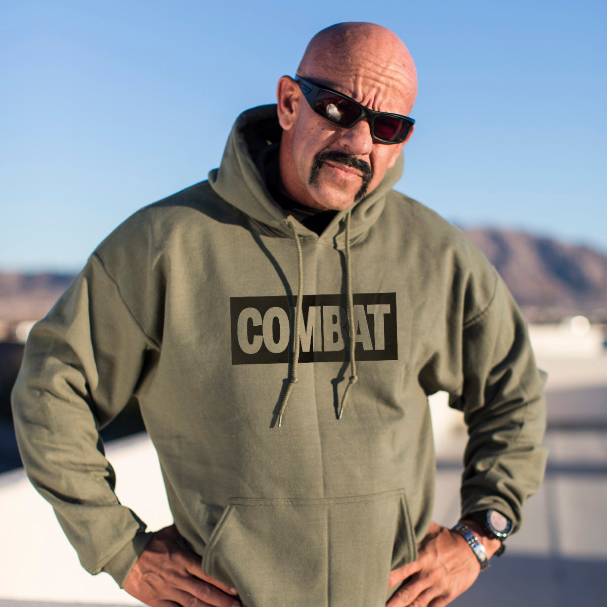 Combat Hoodie - Pipe Hitters Union