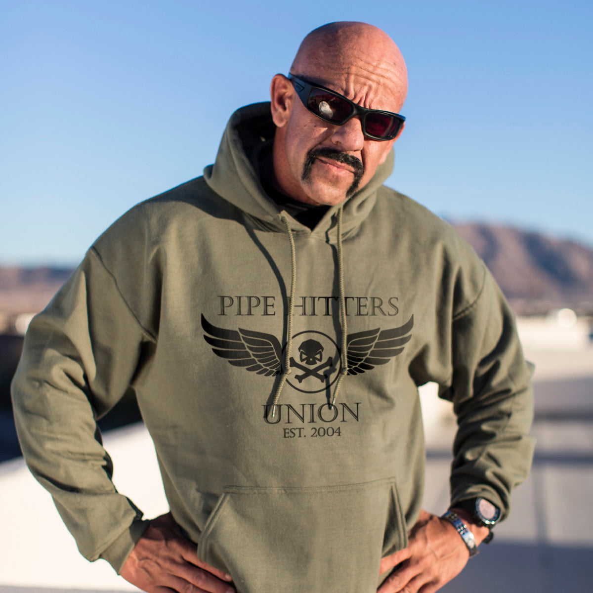 Wings Hoodie - Pipe Hitters Union