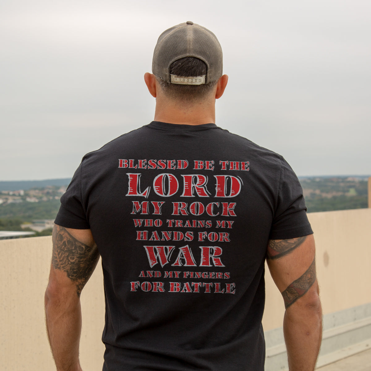 Psalm 144.1 -  - T-Shirts - Pipe Hitters Union