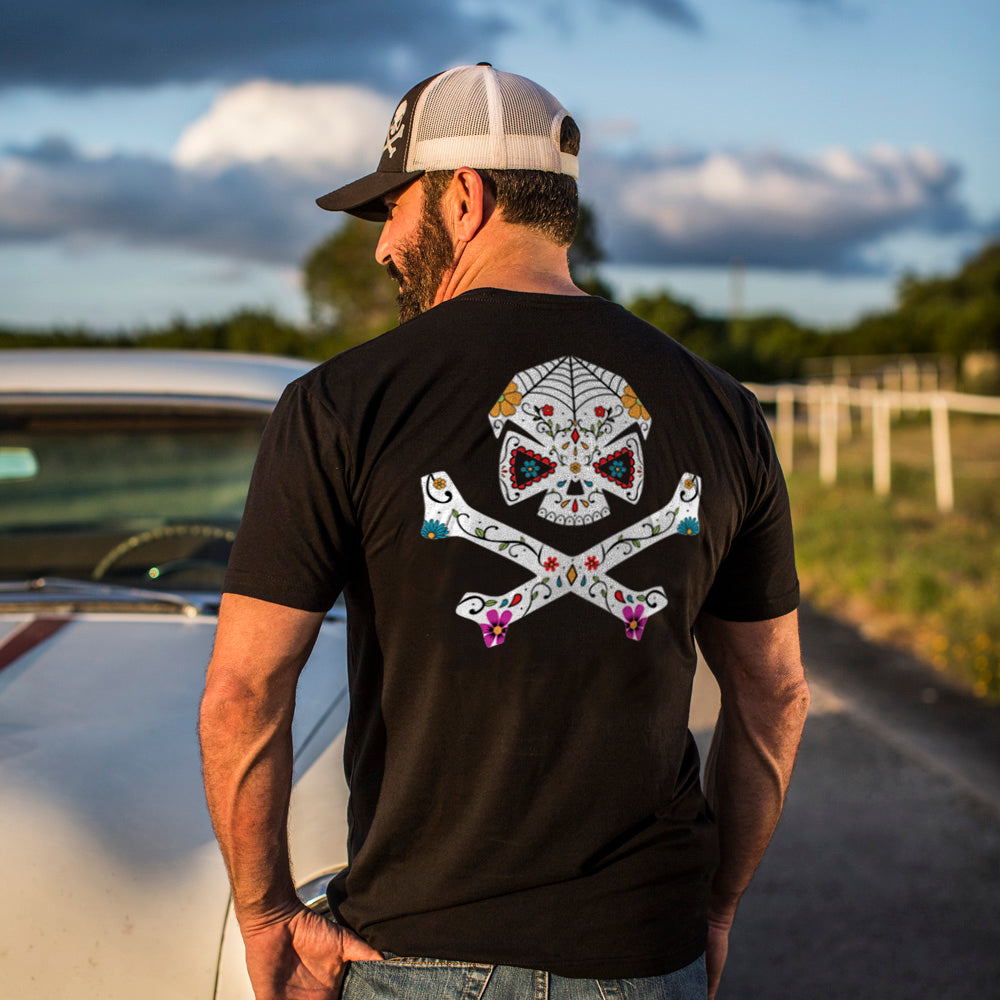 Sugar Skull -  - T-Shirts - Pipe Hitters Union