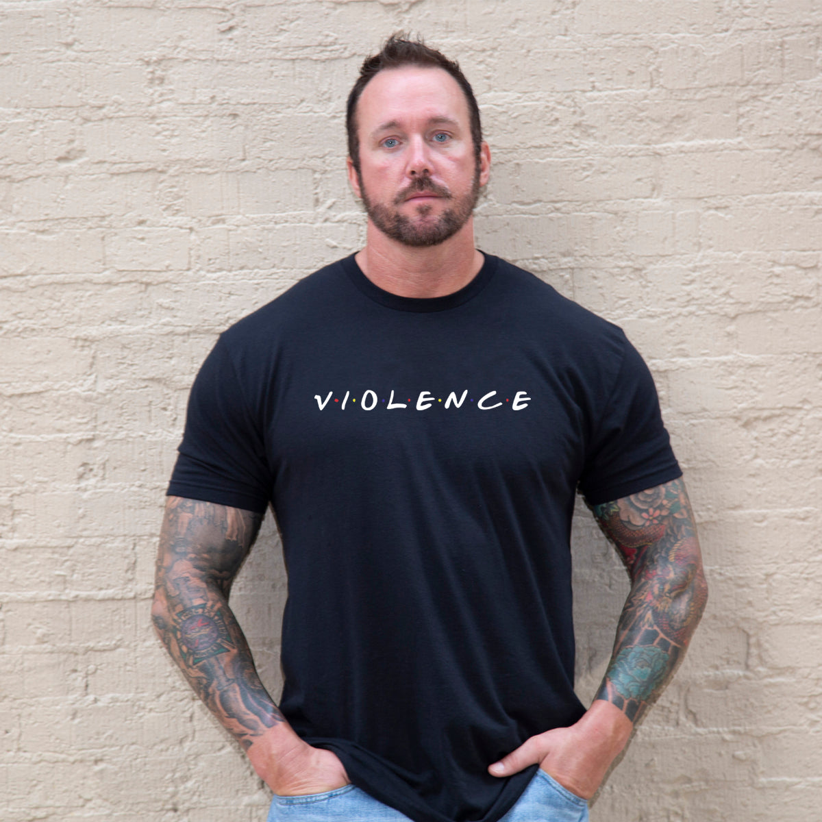 Friendly Violence -  - T-Shirts - Pipe Hitters Union