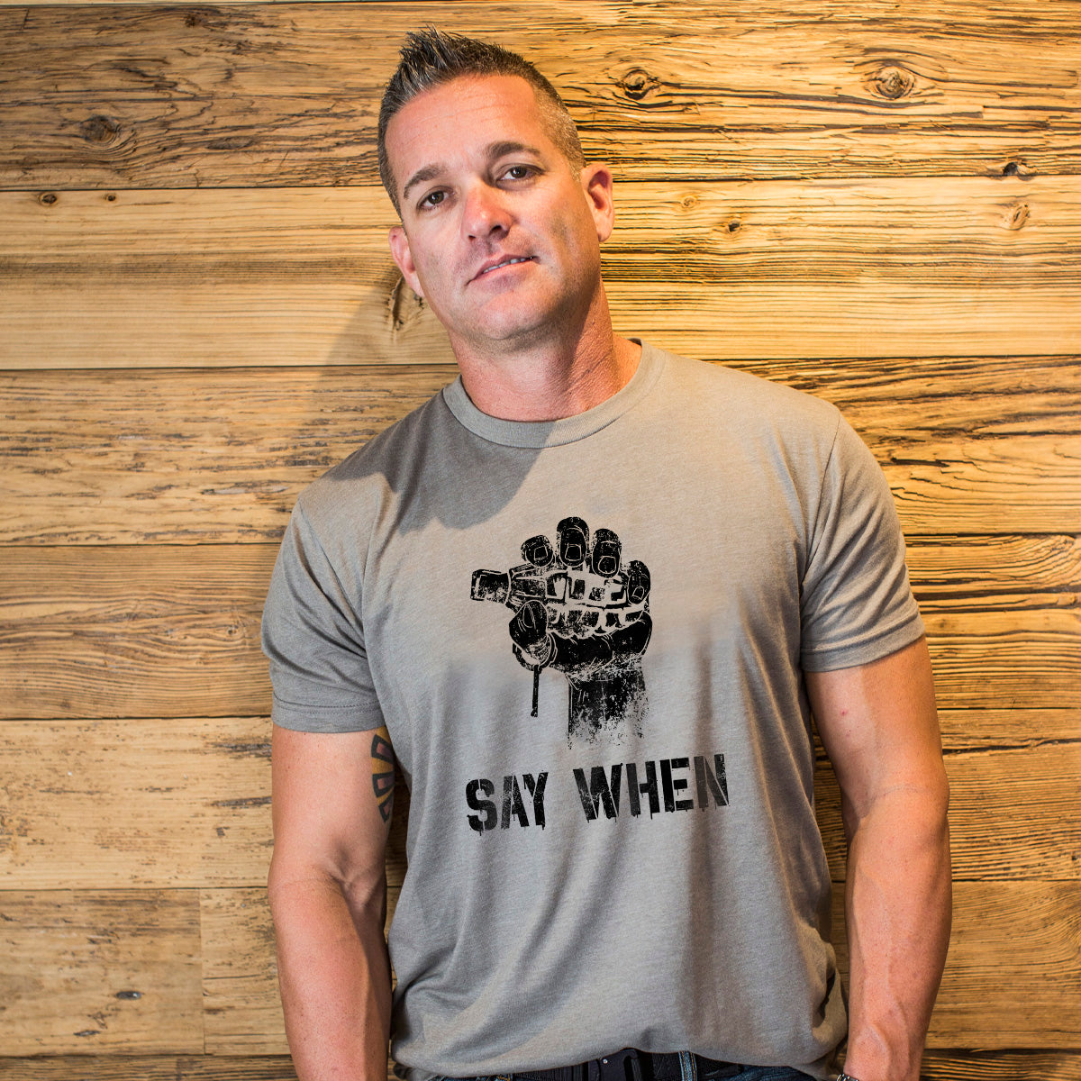 Say When -  - T-Shirts - Pipe Hitters Union
