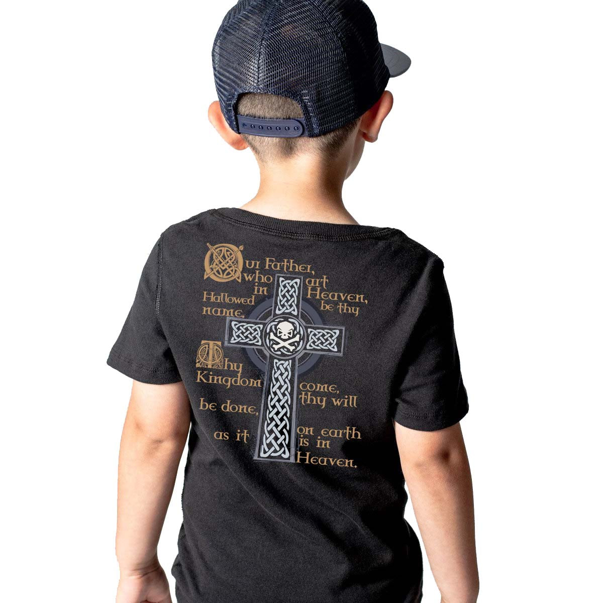 Lord's Prayer - Youth - Black - T-Shirts - Pipe Hitters Union