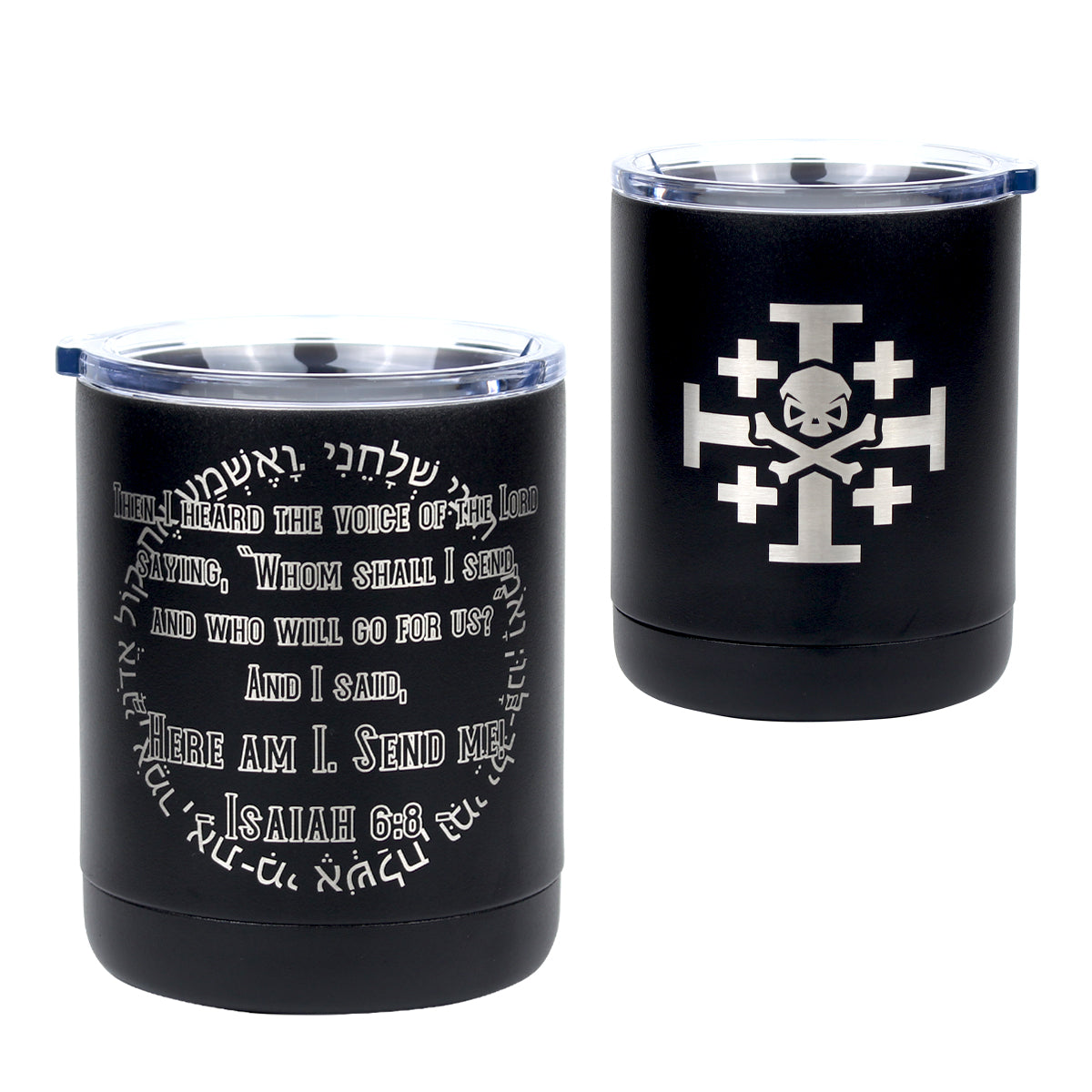 Isaiah 6.8 - 10oz Lowball - Pipe Hitters Union
