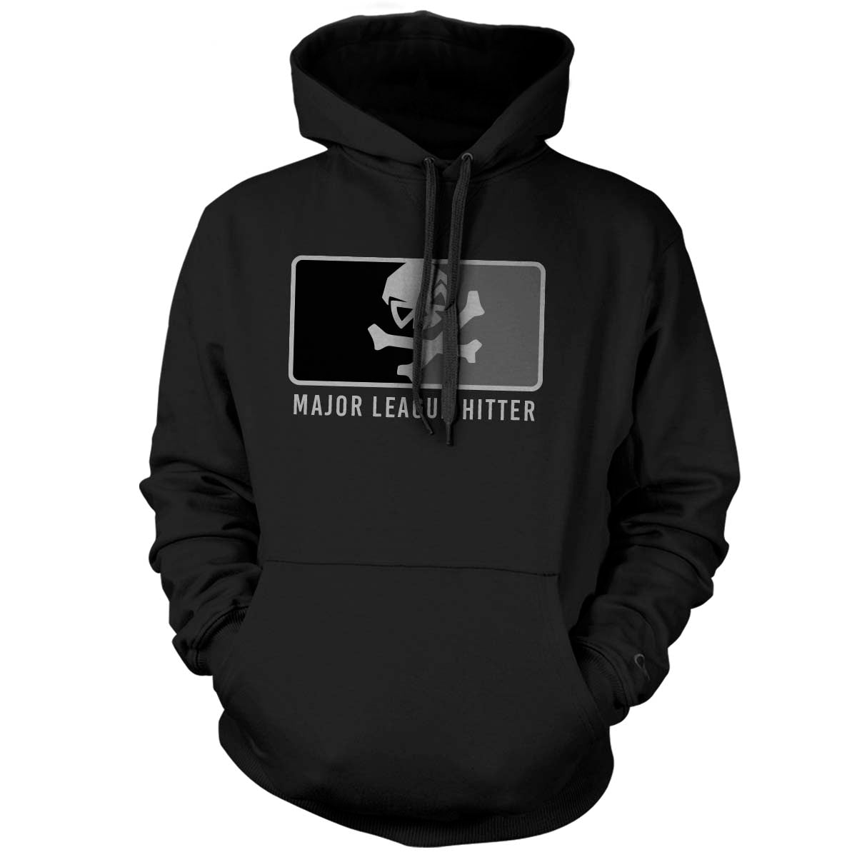 Major League Hitter - Hoodie - Black/Subdued - T-Shirts - Pipe Hitters Union