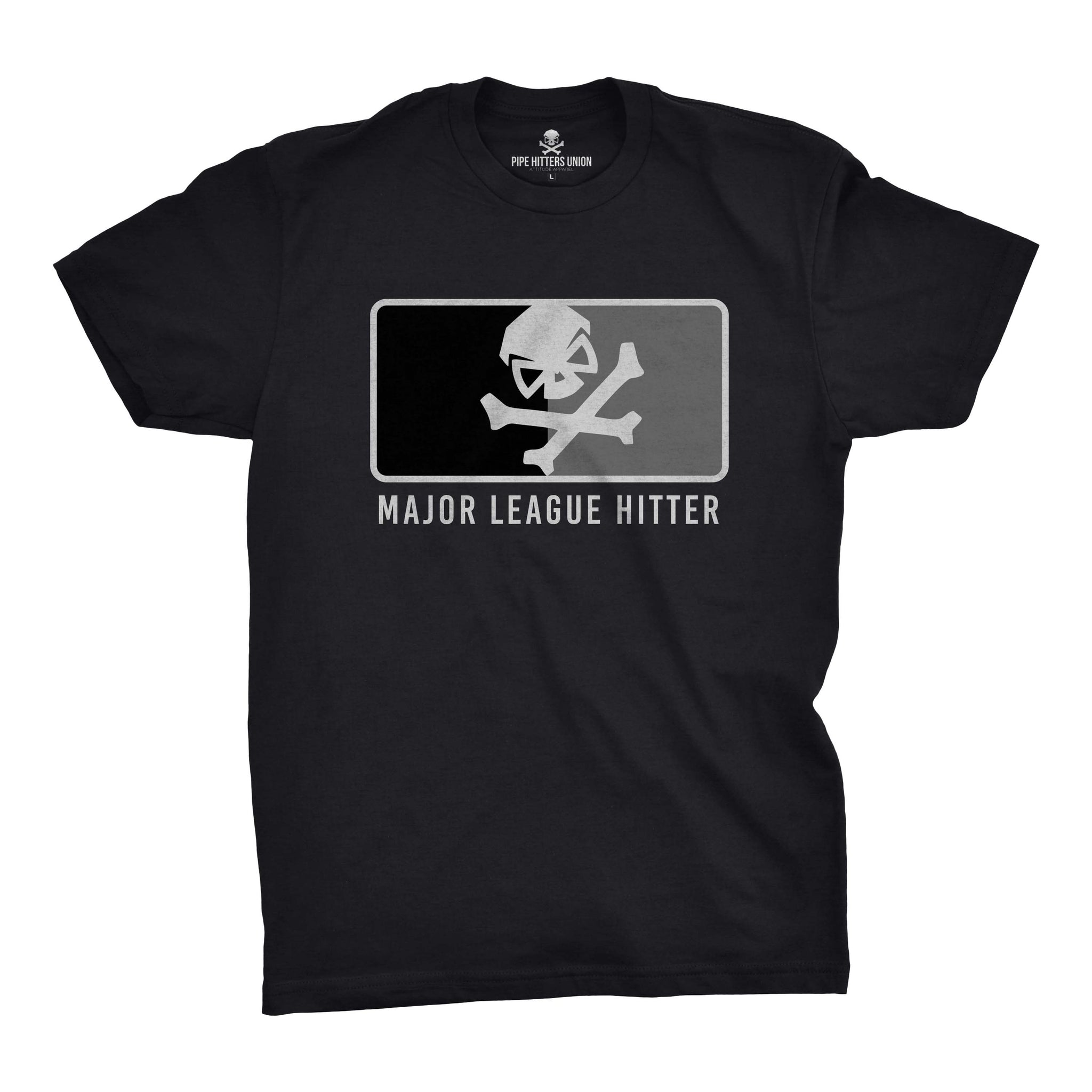Major League Hitter - Black/Subdued - T-Shirts - Pipe Hitters Union