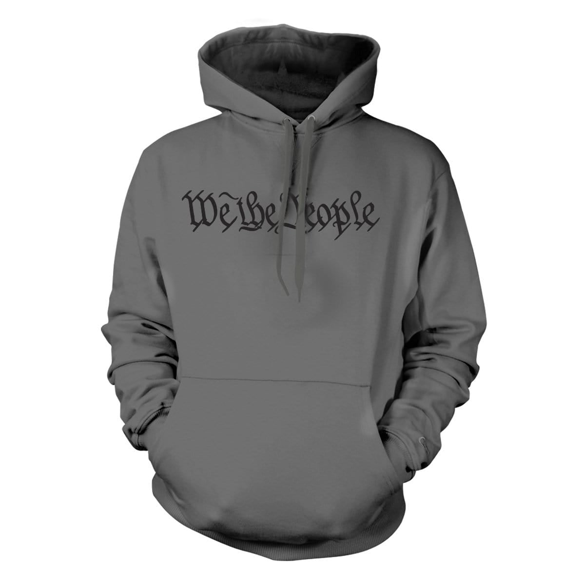 We The People Hoodie - Grey - Hoodies - Pipe Hitters Union