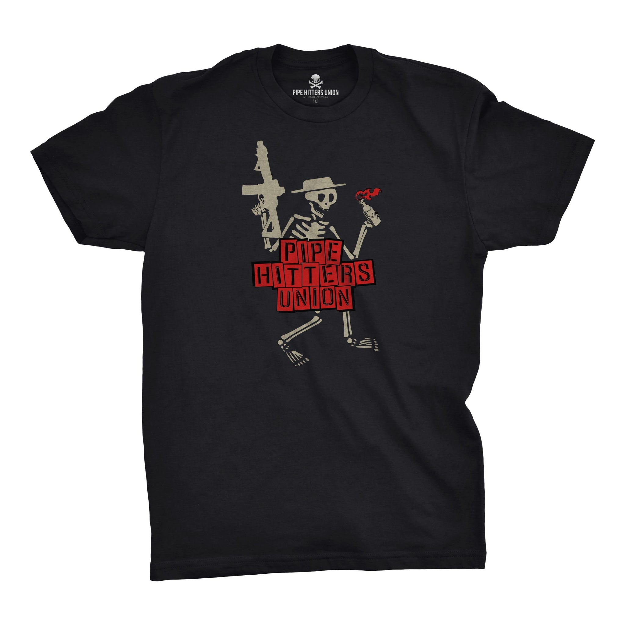 Punk Hitter - Black - T-Shirts - Pipe Hitters Union