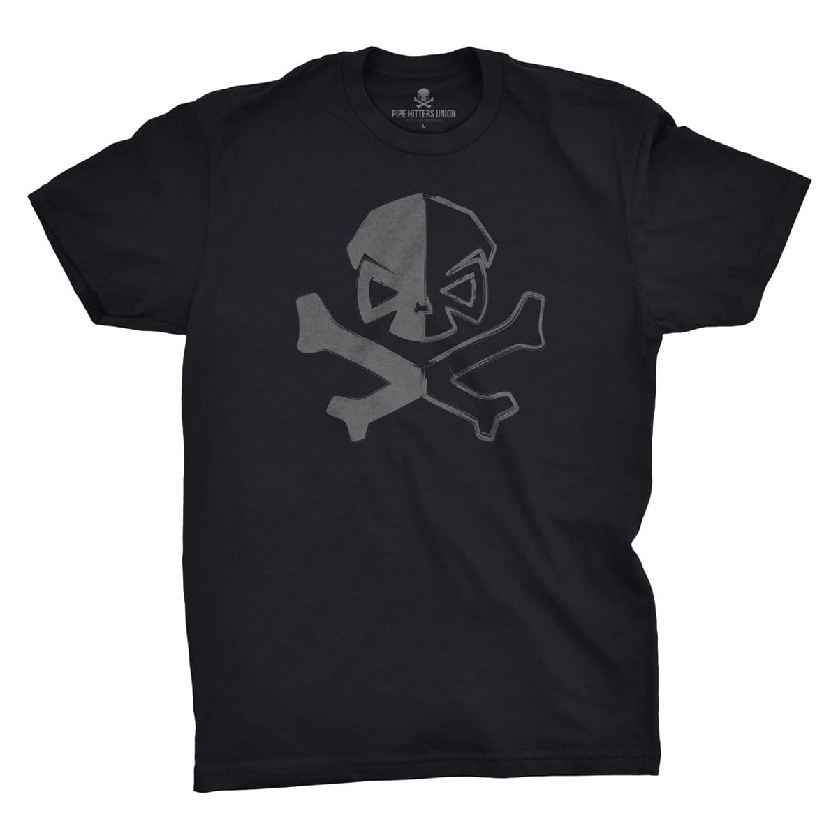 Dichotomy of a Pipe Hitter - Black - T-Shirts - Pipe Hitters Union