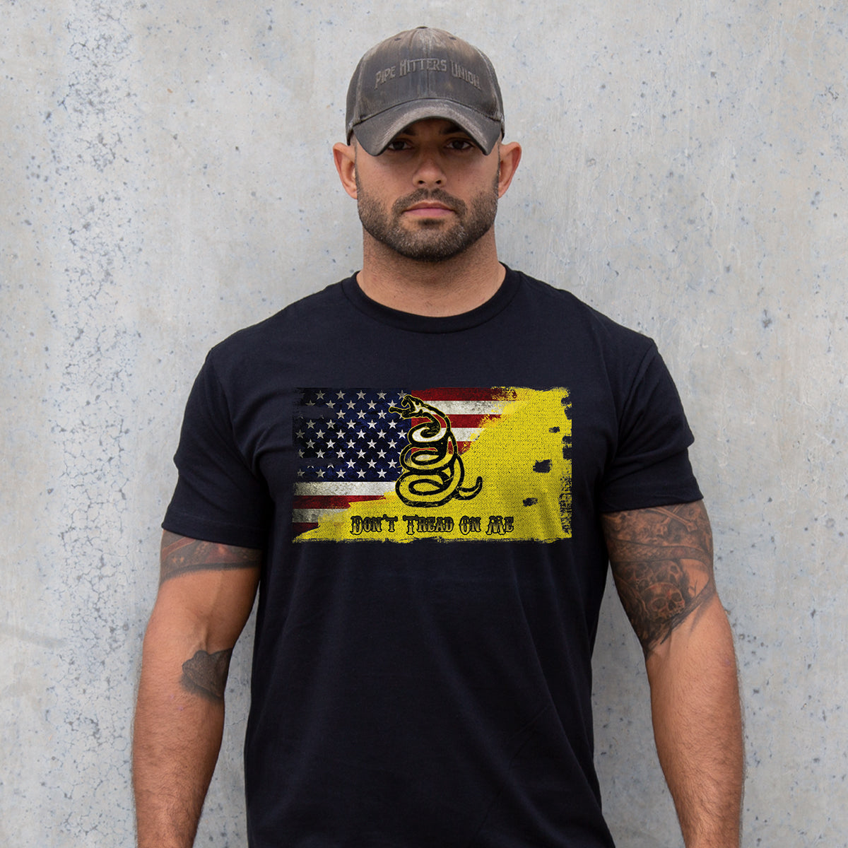 Modern Day Patriot -  - T-Shirts - Pipe Hitters Union