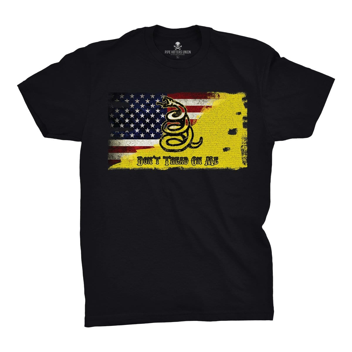 Modern Day Patriot - Black - T-Shirts - Pipe Hitters Union