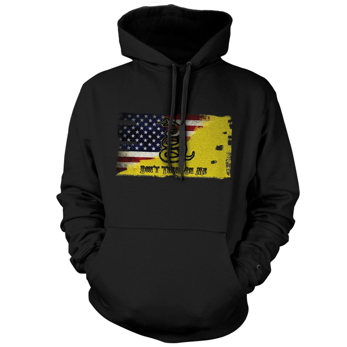 Modern Day Patriot Hoodie - Black - Hoodies - Pipe Hitters Union