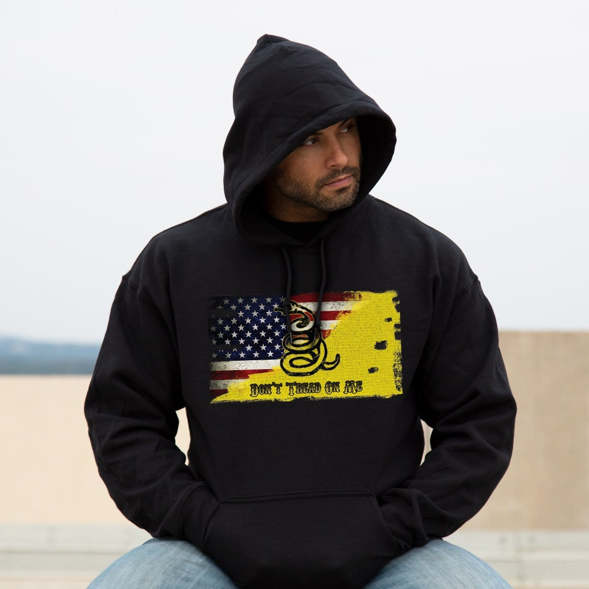 Modern Day Patriot Hoodie -  - Hoodies - Pipe Hitters Union