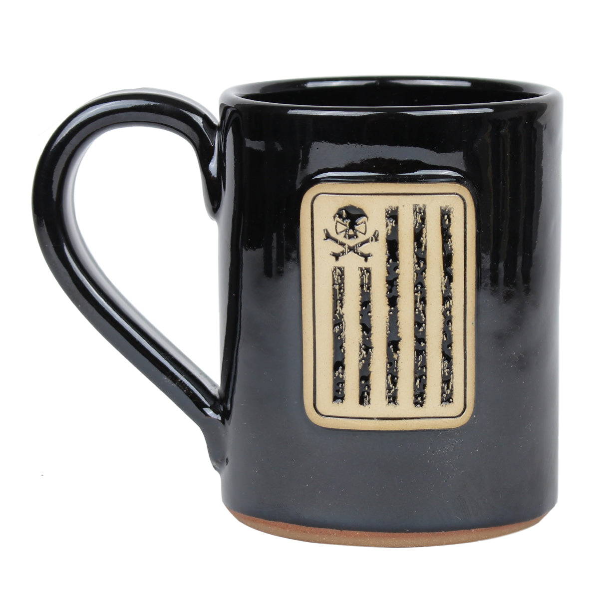Battle Stripes - 14oz Coffee Mug - Black - Coffee Mug - Pipe Hitters Union