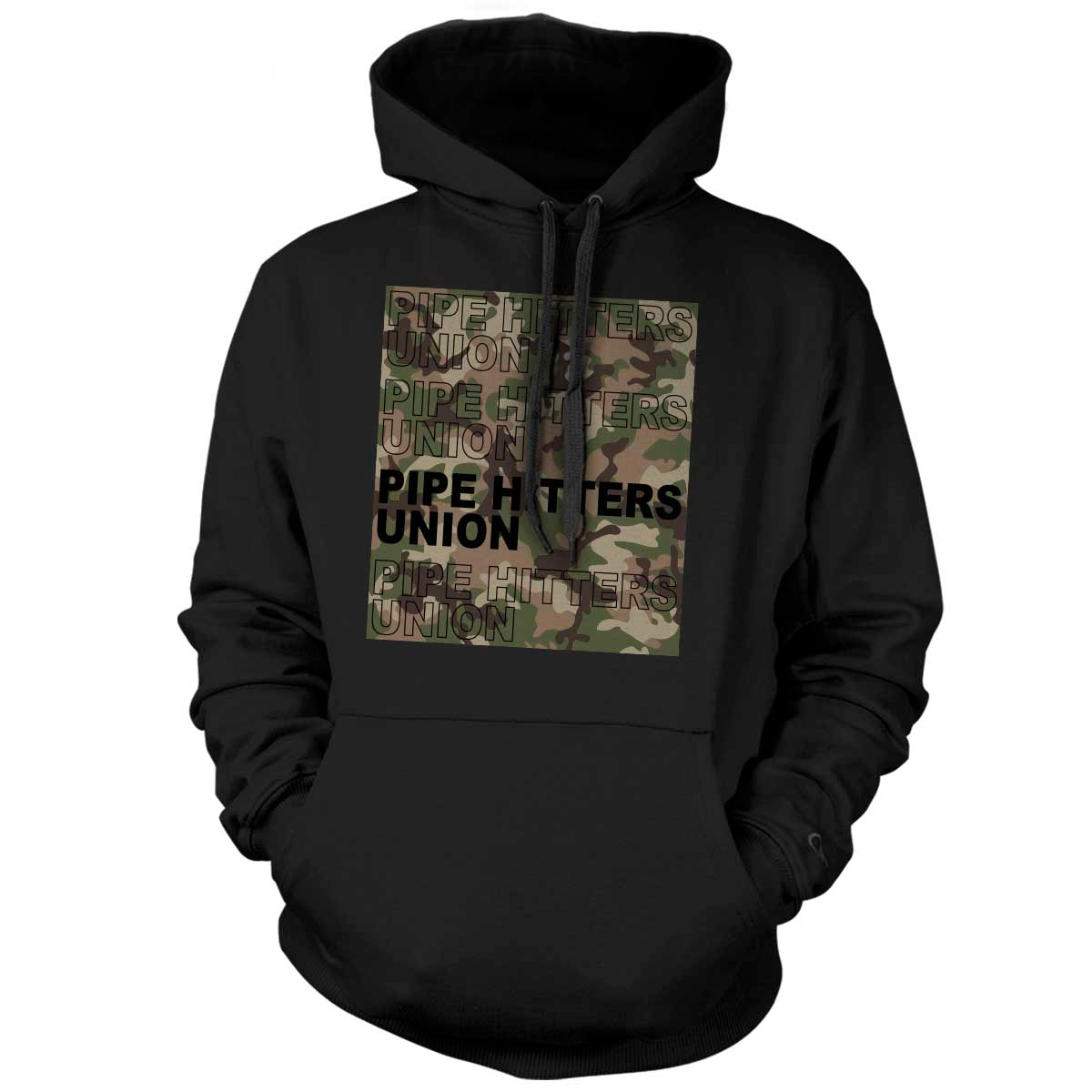 Pipe Hitter Pattern Analysis - Hoodie - Black/Green Multicam - T-Shirts - Pipe Hitters Union