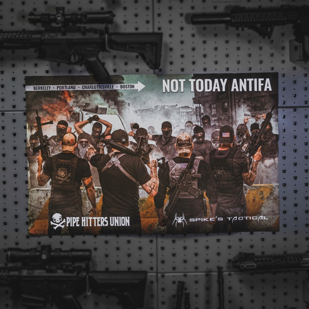 Not Today Antifa Poster - Pipe Hitters Union