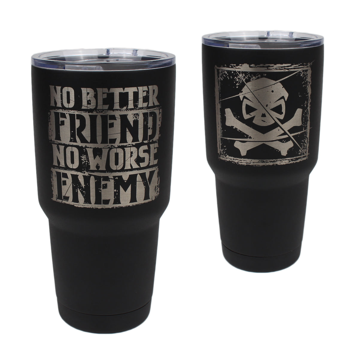 No Better Friend - 30oz Tumbler - Pipe Hitters Union
