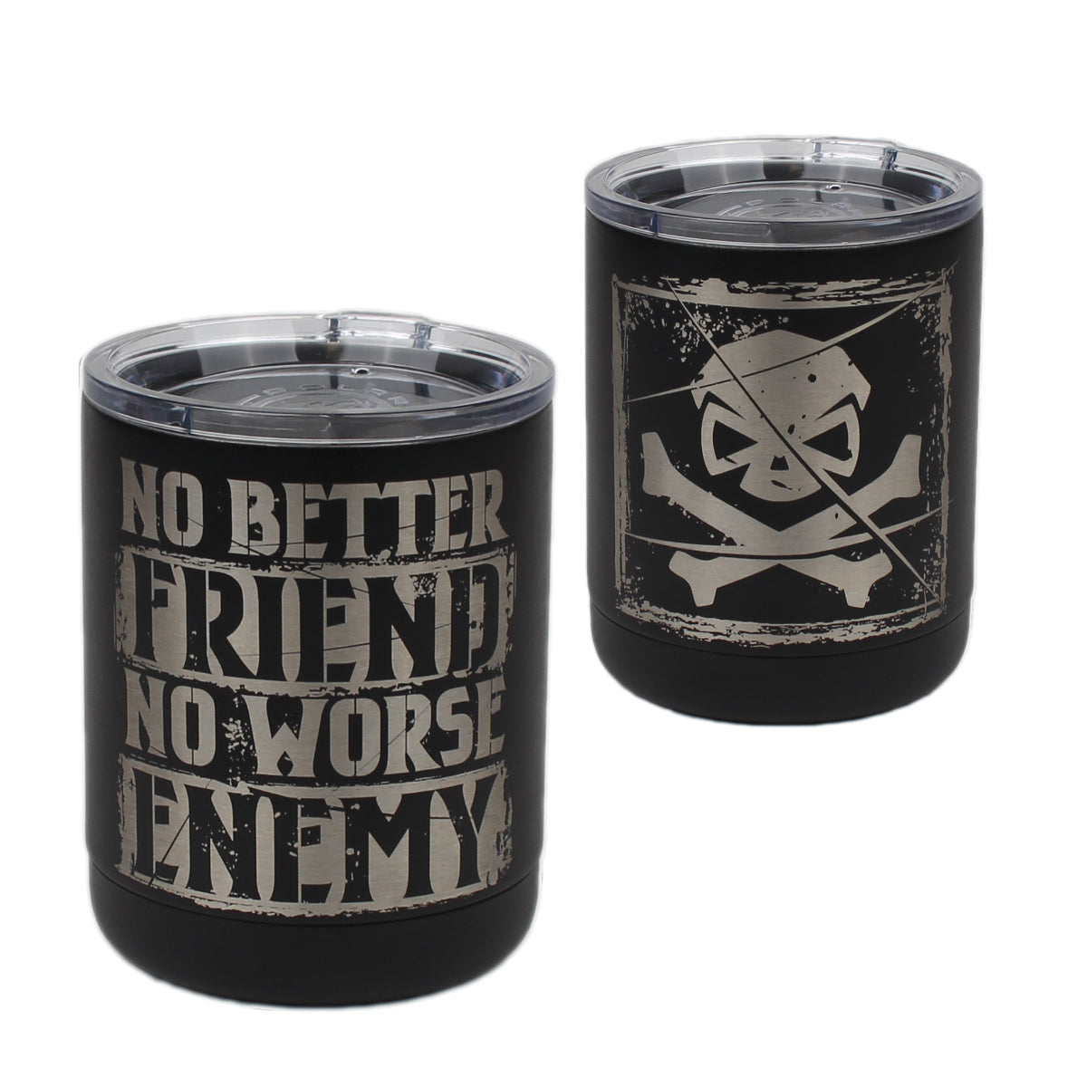 No Better Friend - 10oz Lowball -  - Tumbler - Pipe Hitters Union