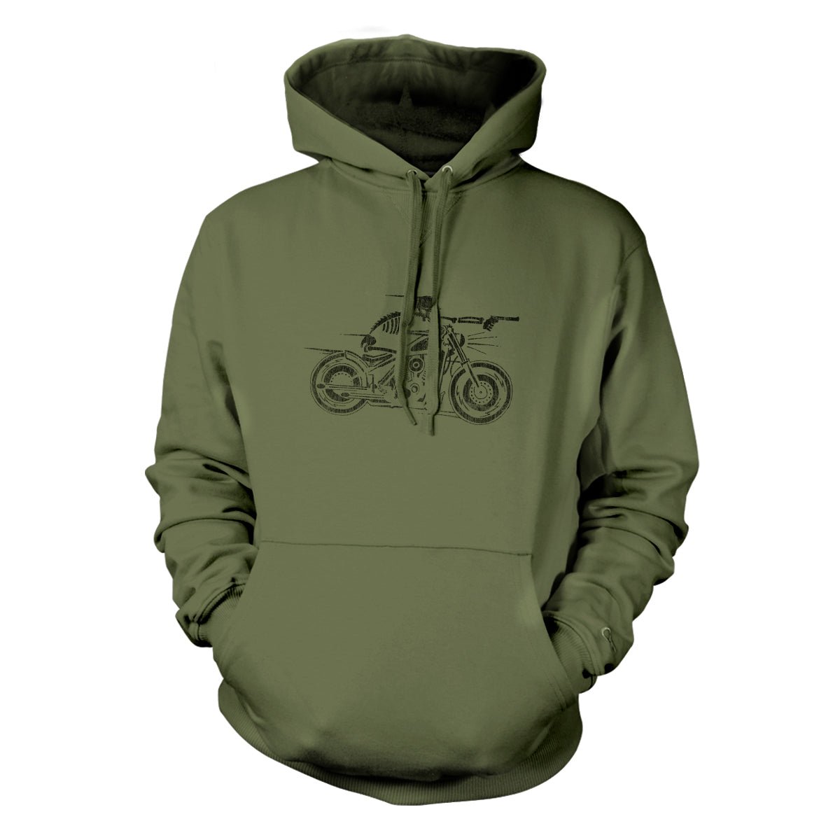Nomad - Hoodie - Military Green - T-Shirts - Pipe Hitters Union