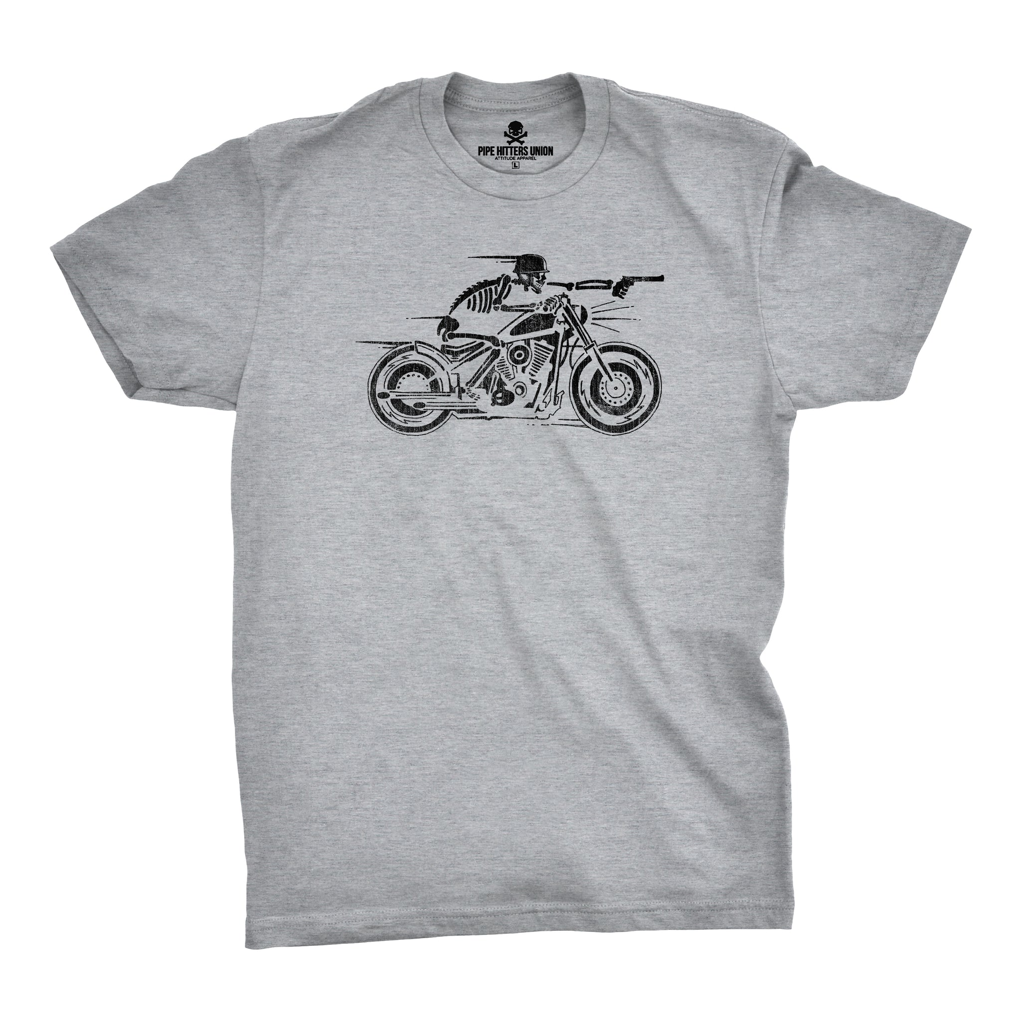 The Nomad - Grey - T-Shirts - Pipe Hitters Union
