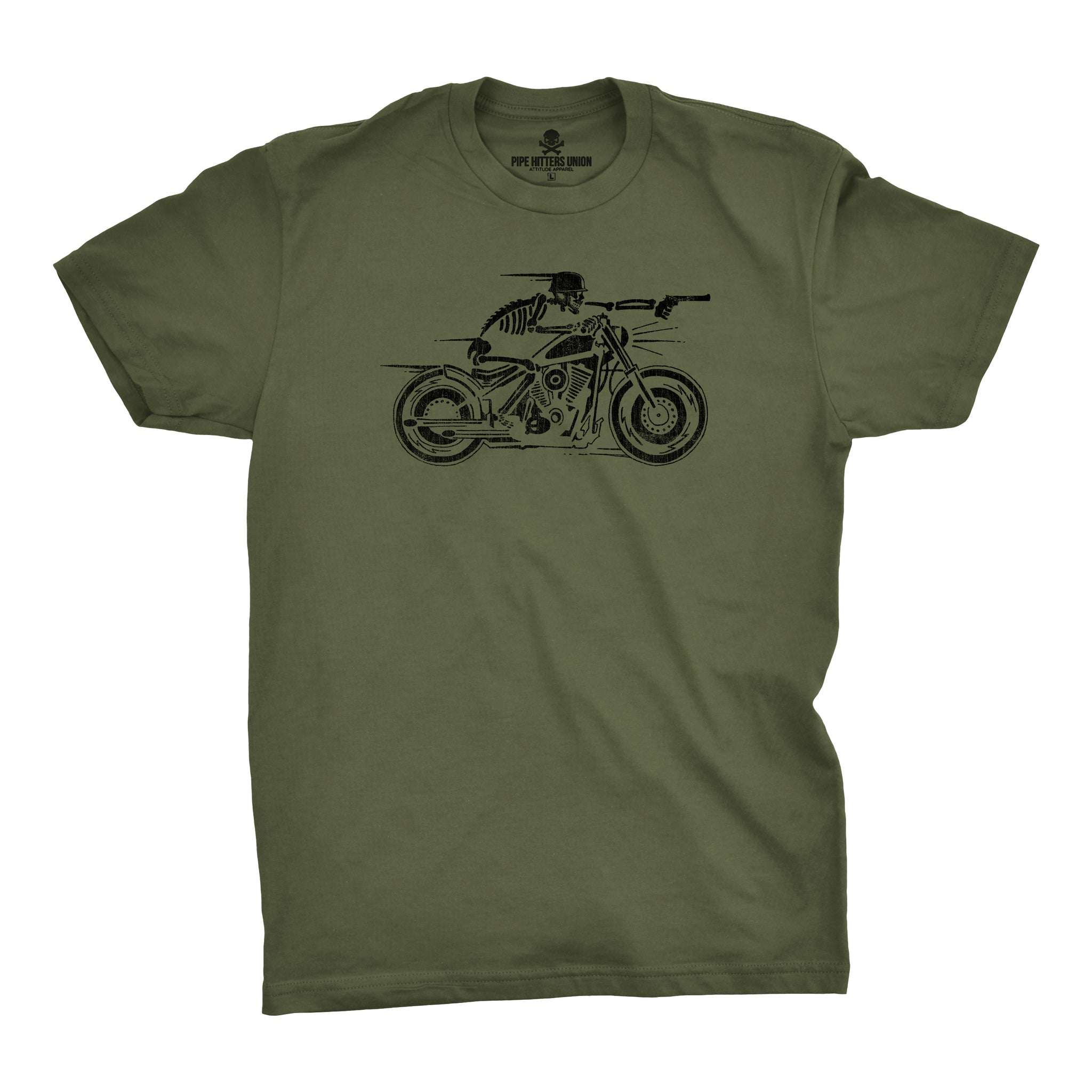 The Nomad - Military Green - T-Shirts - Pipe Hitters Union