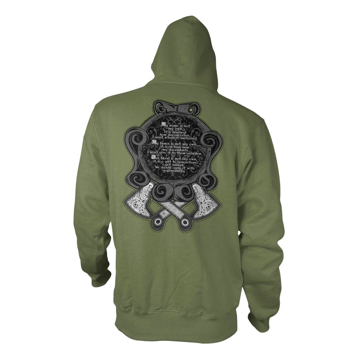 Not My Own - Hoodie - Military Green - T-Shirts - Pipe Hitters Union