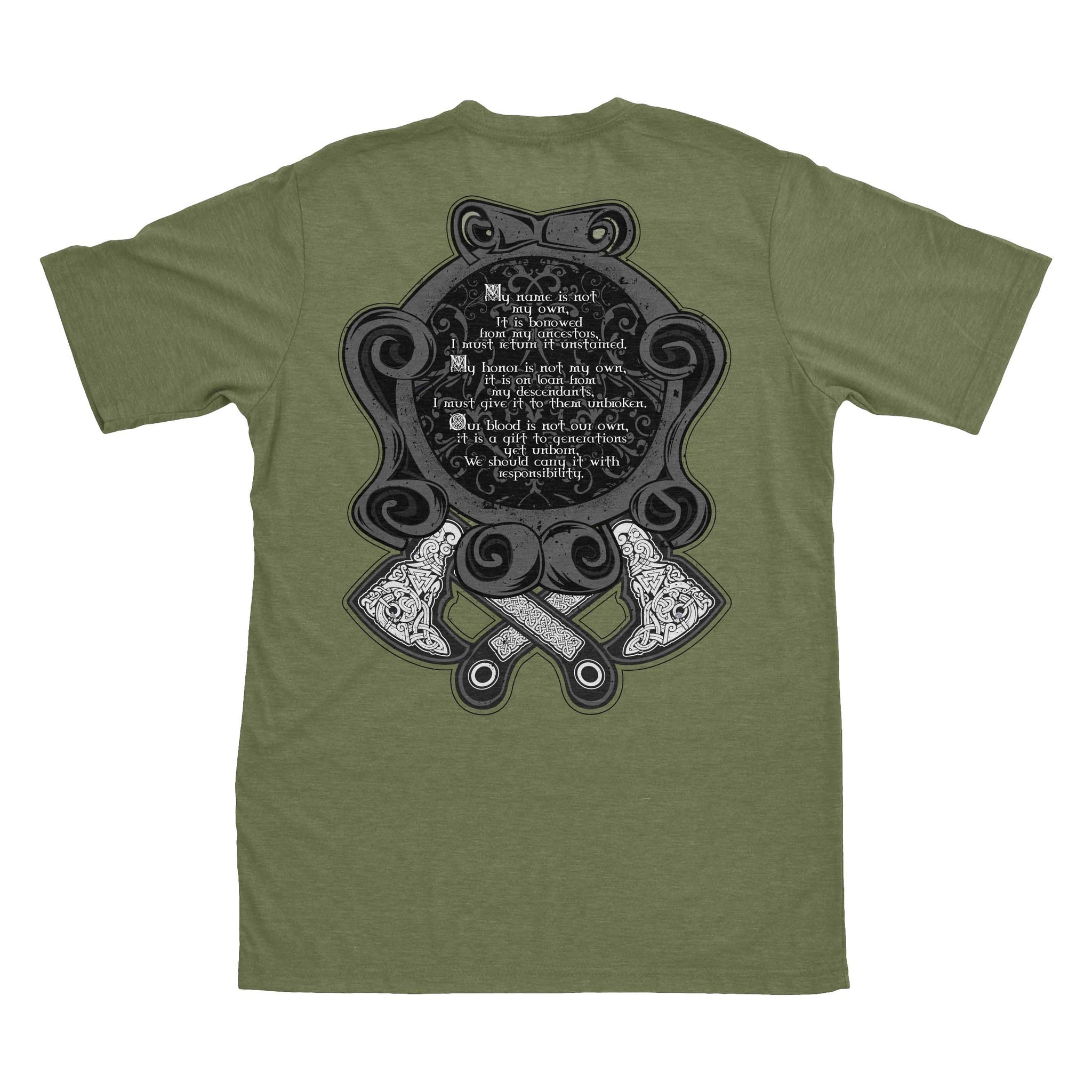 Not My Own - Military Green - T-Shirts - Pipe Hitters Union
