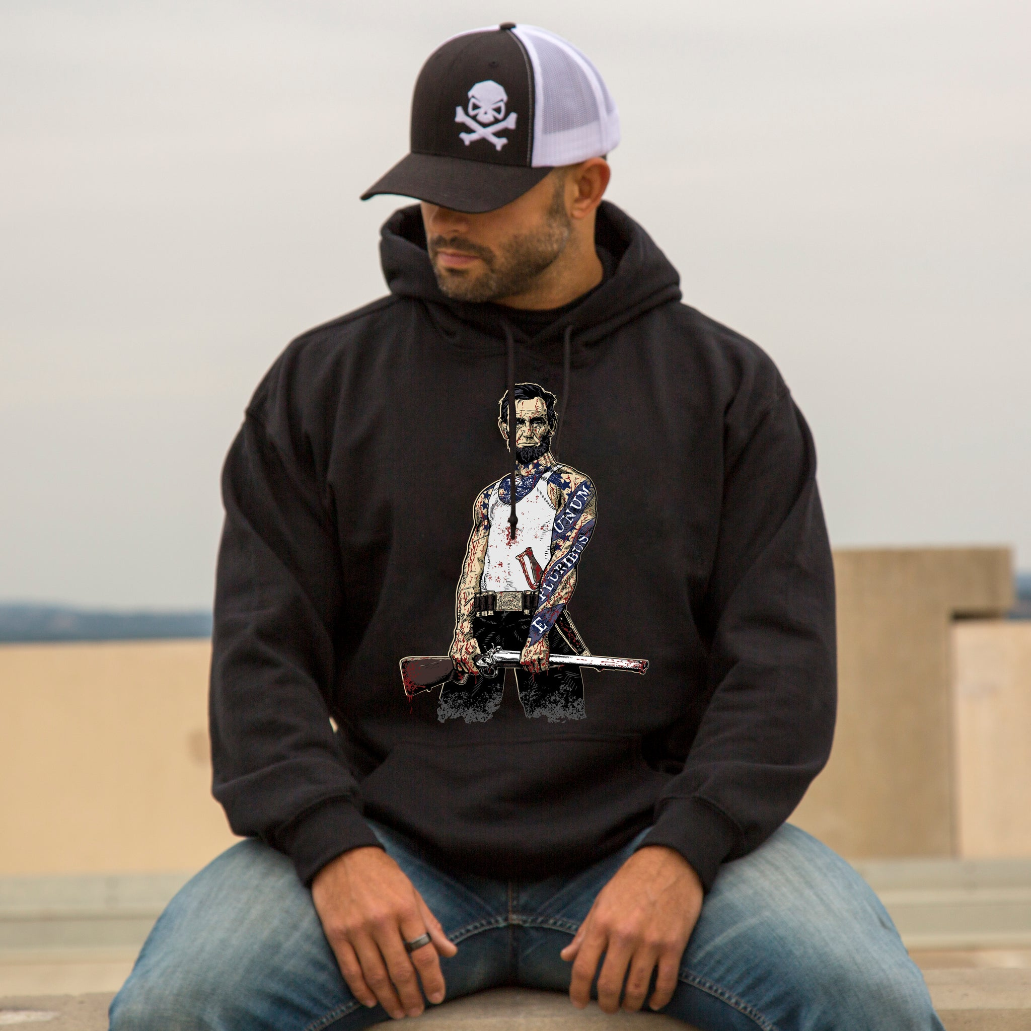 Original Pipe Hitter - Abe Hoodie -  - T-Shirts - Pipe Hitters Union