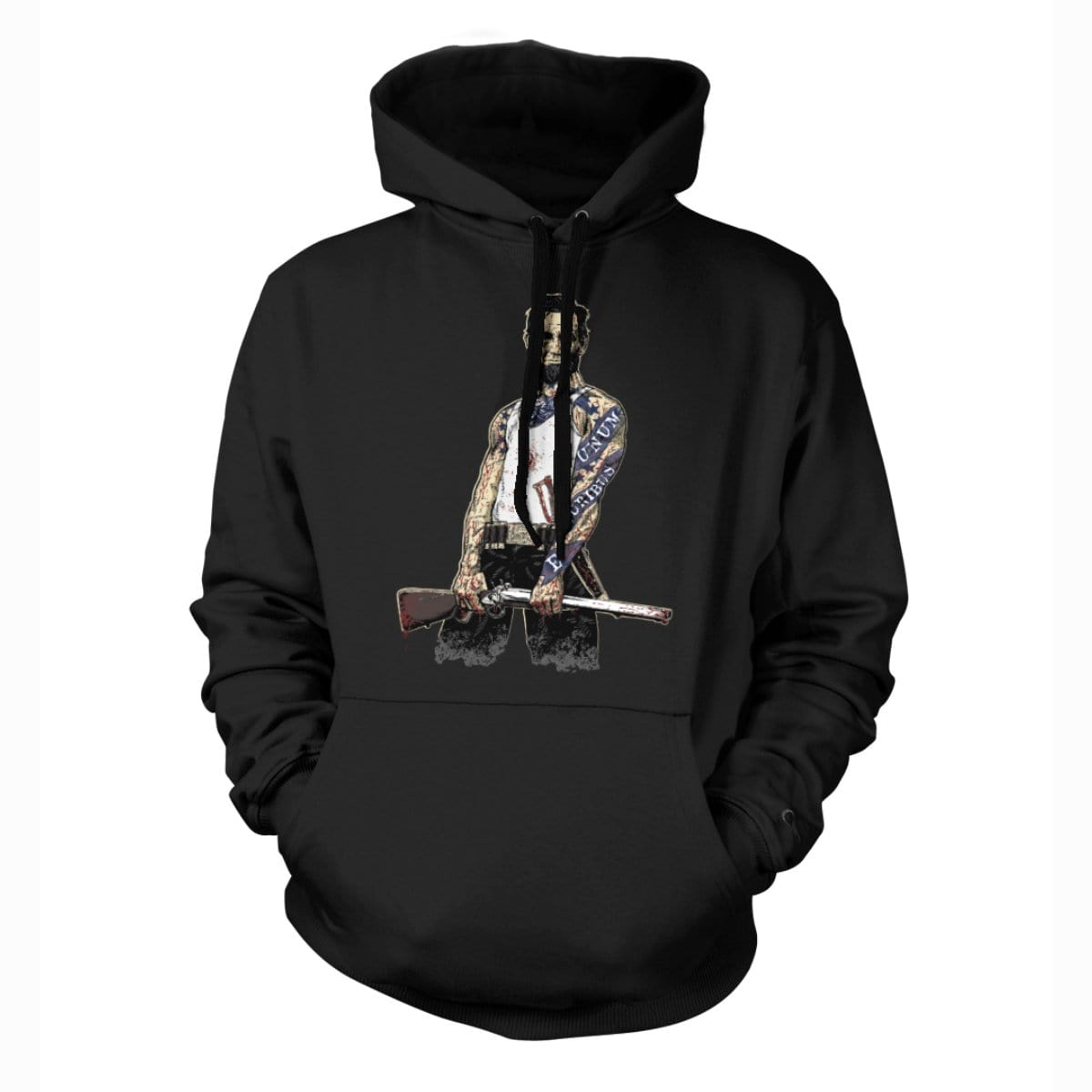 Original Pipe Hitter - Abe Hoodie - Black - T-Shirts - Pipe Hitters Union
