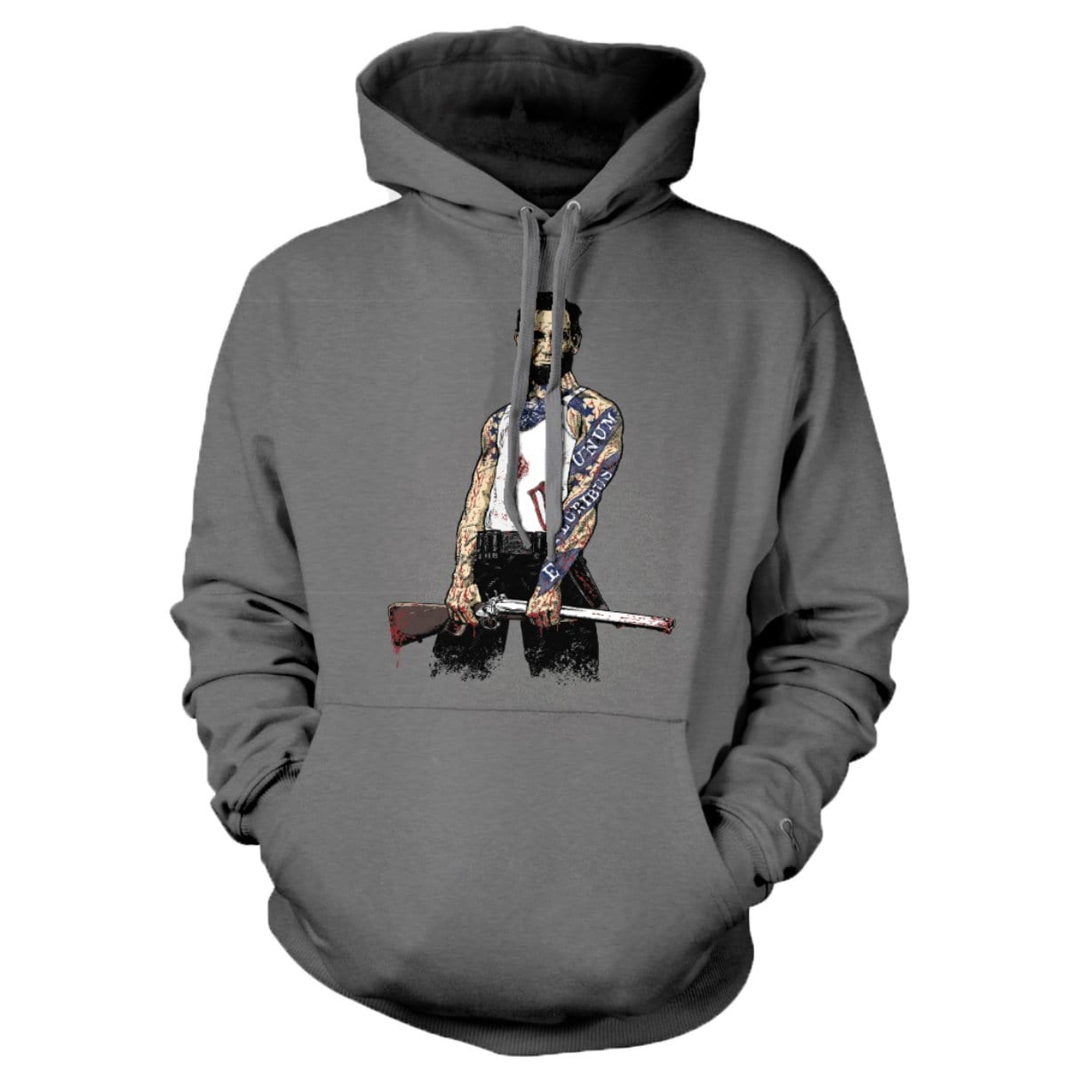 Original Pipe Hitter - Abe Hoodie - Grey - T-Shirts - Pipe Hitters Union