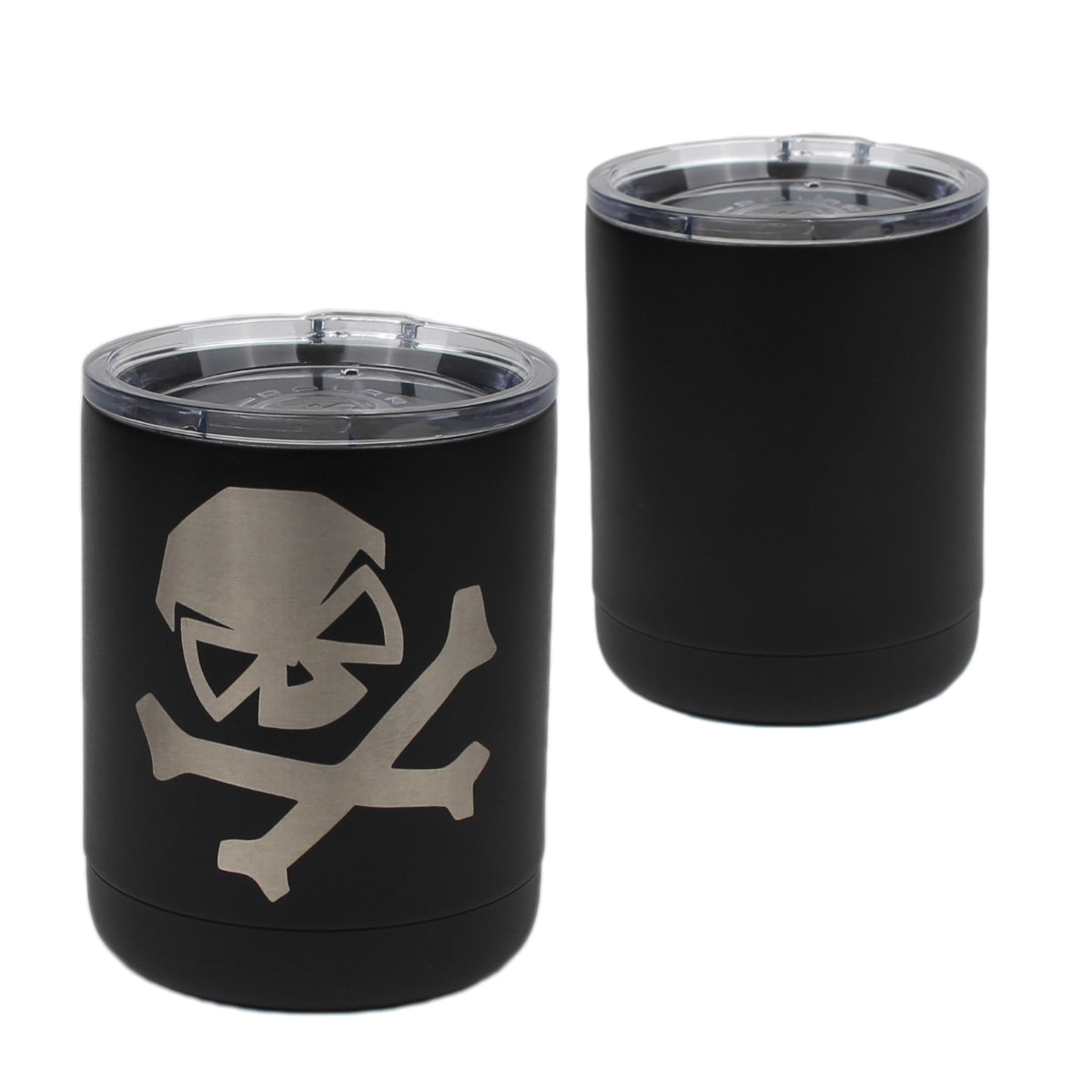 Solid Skull - 10oz Lowball -  - Tumbler - Pipe Hitters Union