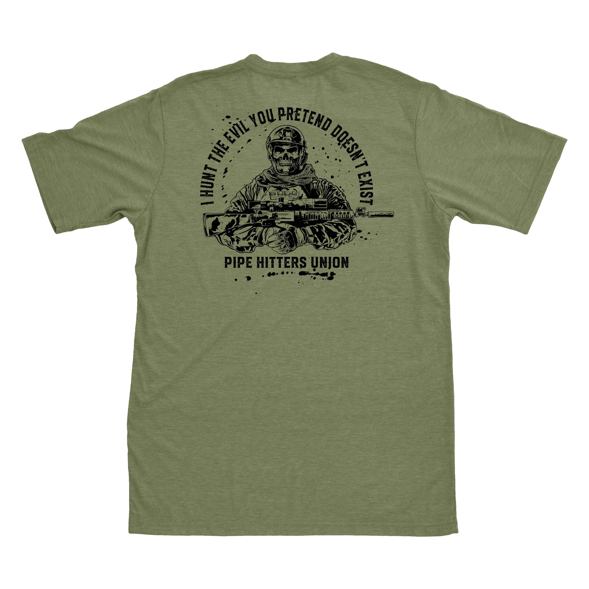 Hunt Evil - Military Green - T-Shirts - Pipe Hitters Union
