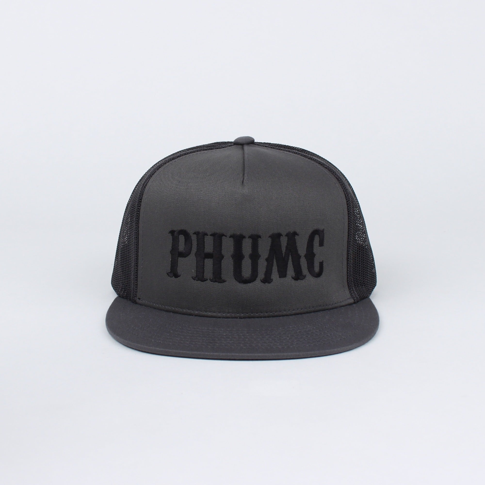 PHUMC CTR Linear Flat Bill Snapback (Grey) - Pipe Hitters Union
