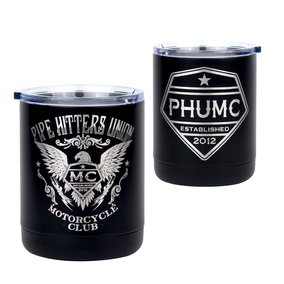 PHUMC Eagle - 10oz Lowball (PHUMC) - Pipe Hitters Union