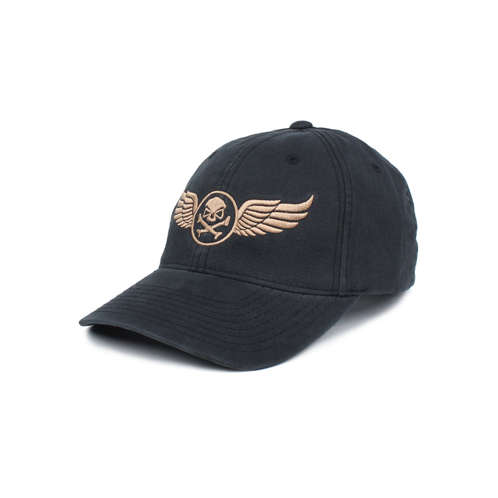 PHUMC Wings Flexfit - Black/Gold - Hats - Pipe Hitters Union
