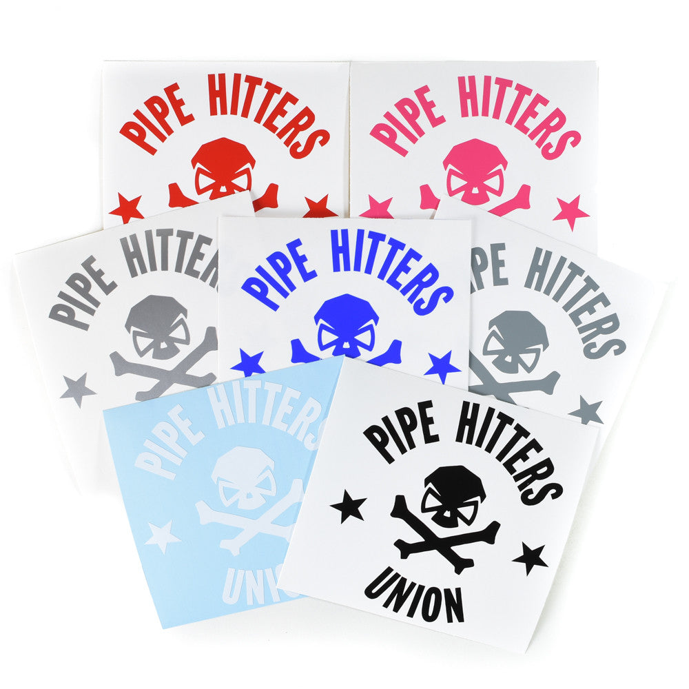 PHU Shield - Decal - Pipe Hitters Union
