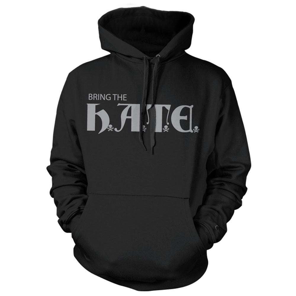 HATE Hoodie - Black - Hoodies - Pipe Hitters Union