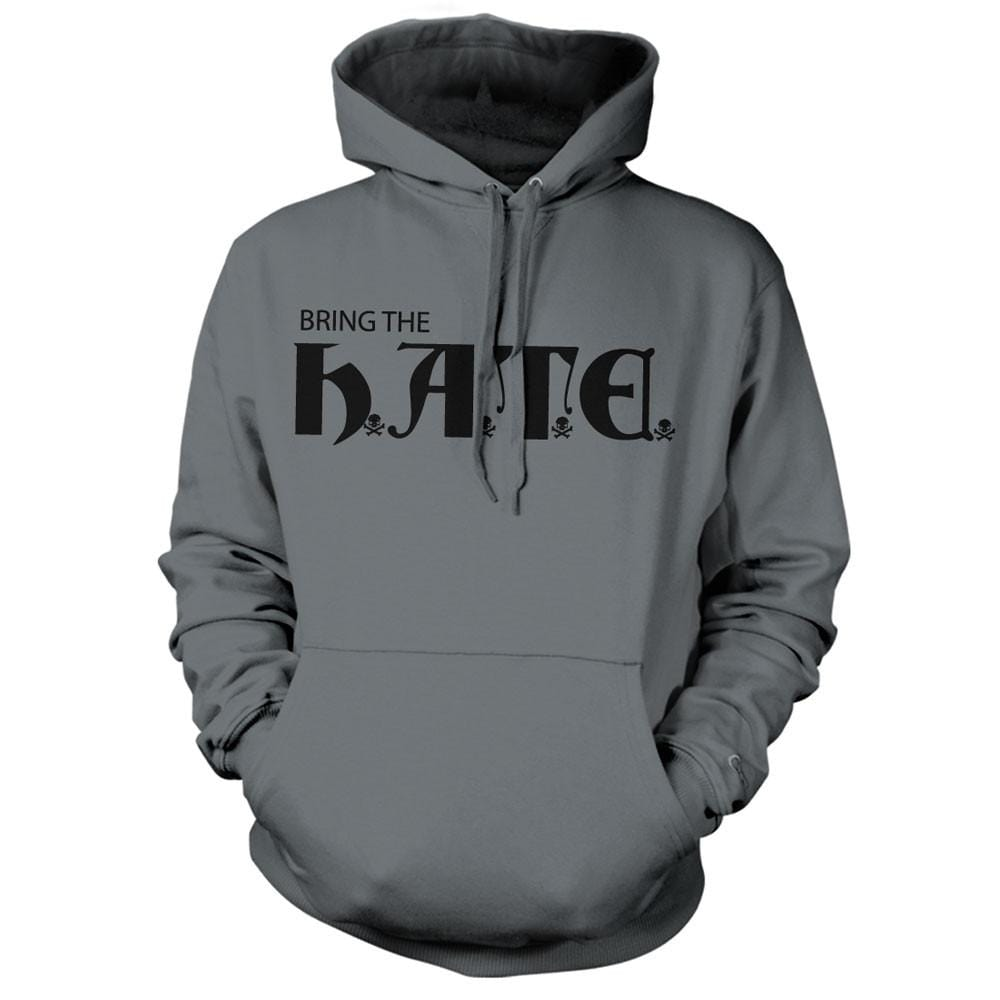 HATE Hoodie - Grey - Hoodies - Pipe Hitters Union