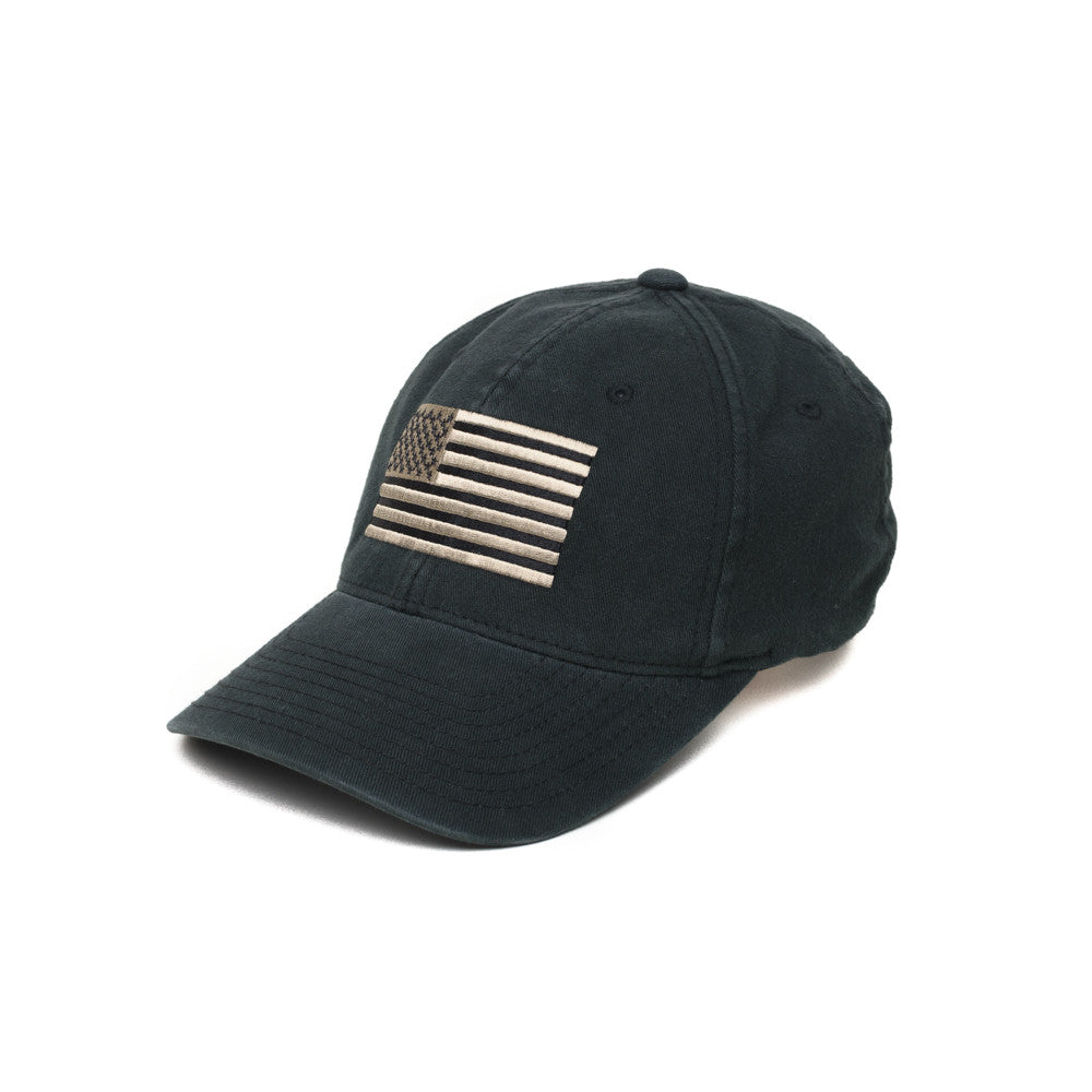 American Flag - Black/Pewter - Hats - Pipe Hitters Union