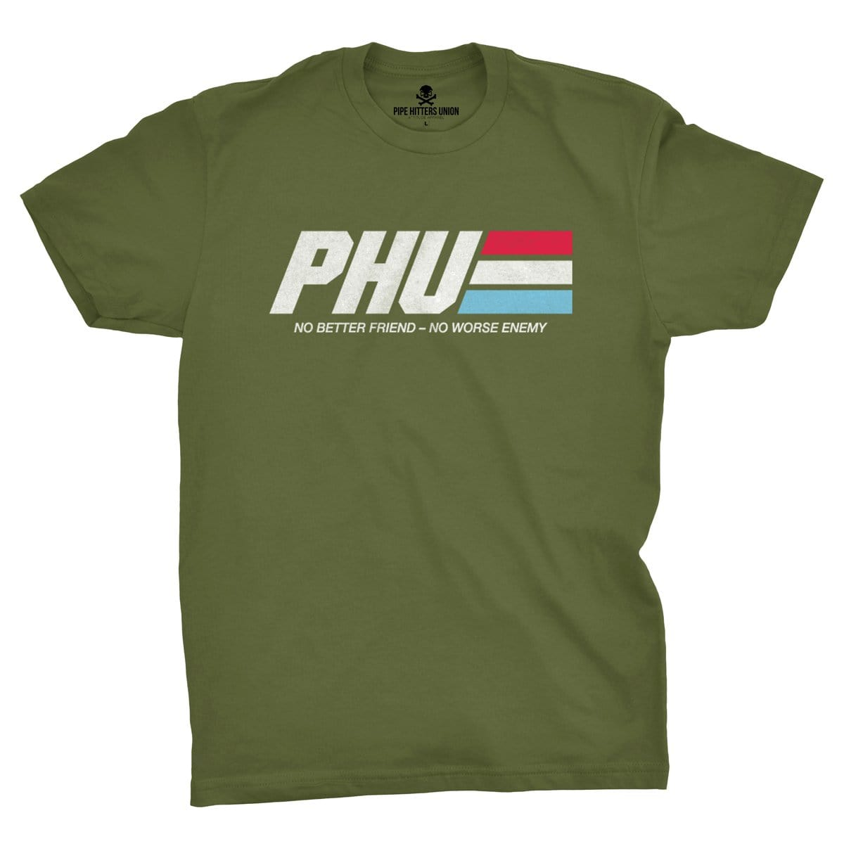 Hero Tee - Military Green - T-Shirts - Pipe Hitters Union